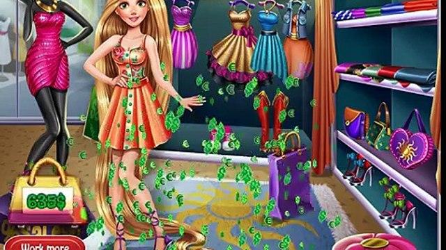 Princess Disney Rapunzel Realife Shopping - Games children