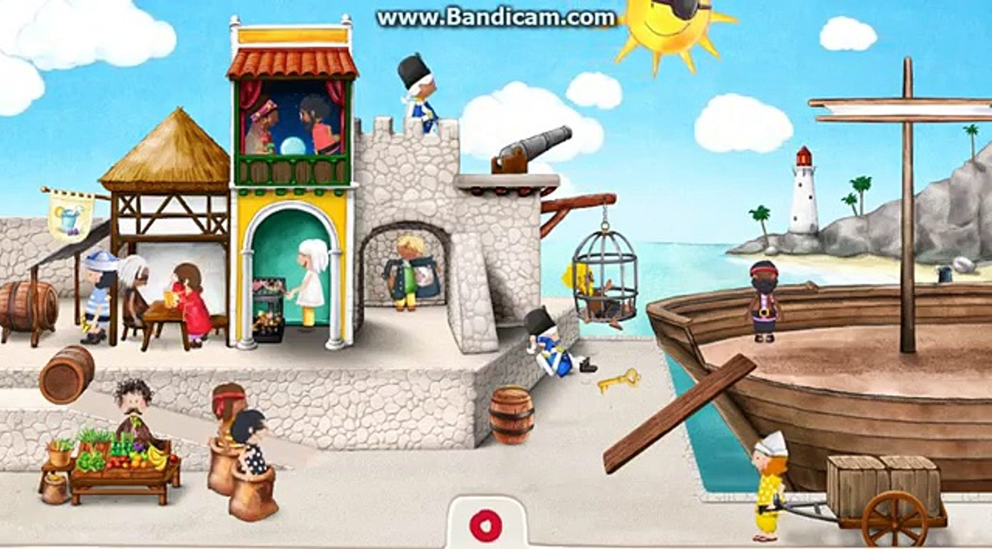 Игры Пираты - Tiny Pirates / Pirate Games - Best APP for Kids