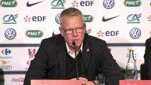 Foot - CM2018 - Suède : Andersson «Le deuxième but français est hors jeu !»