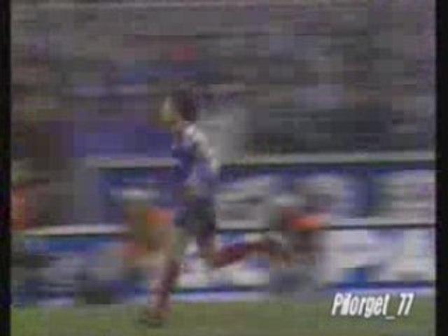 ANDERLECHT-PSG, 92-93, le but parisien