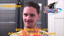 HH Interview 2016-11-10 Benjamin Villiot Attaquant-Défenseur Sangliers Arvernes - D1 - Clermont VS Briançon