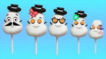 Snowman Candy Finger Family Cartoon Nursery Rhymes | Children Cartoon Rhymes 3D Animation