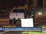 Suspect behind bars after hitting and killing a woman, leaving two children hospitalized