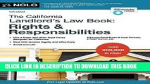 Ebook California Landlord s Law Book, The: Rights   Responsibilities (California Landlord s Law
