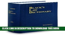 Ebook Black s Law Dictionary, 10th Edition Free Read