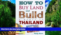 Best Buy Deals  How to Buy Land and Build a House in Thailand  Best Seller Books Most Wanted