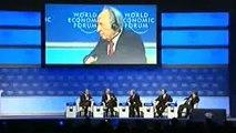 Turkish PM Erdogan Slams Shimon Peres For Israeli Killings And Walks Off Stage