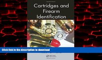 Buy book  Cartridges and Firearm Identification (Advances in Materials Science and Engineering)