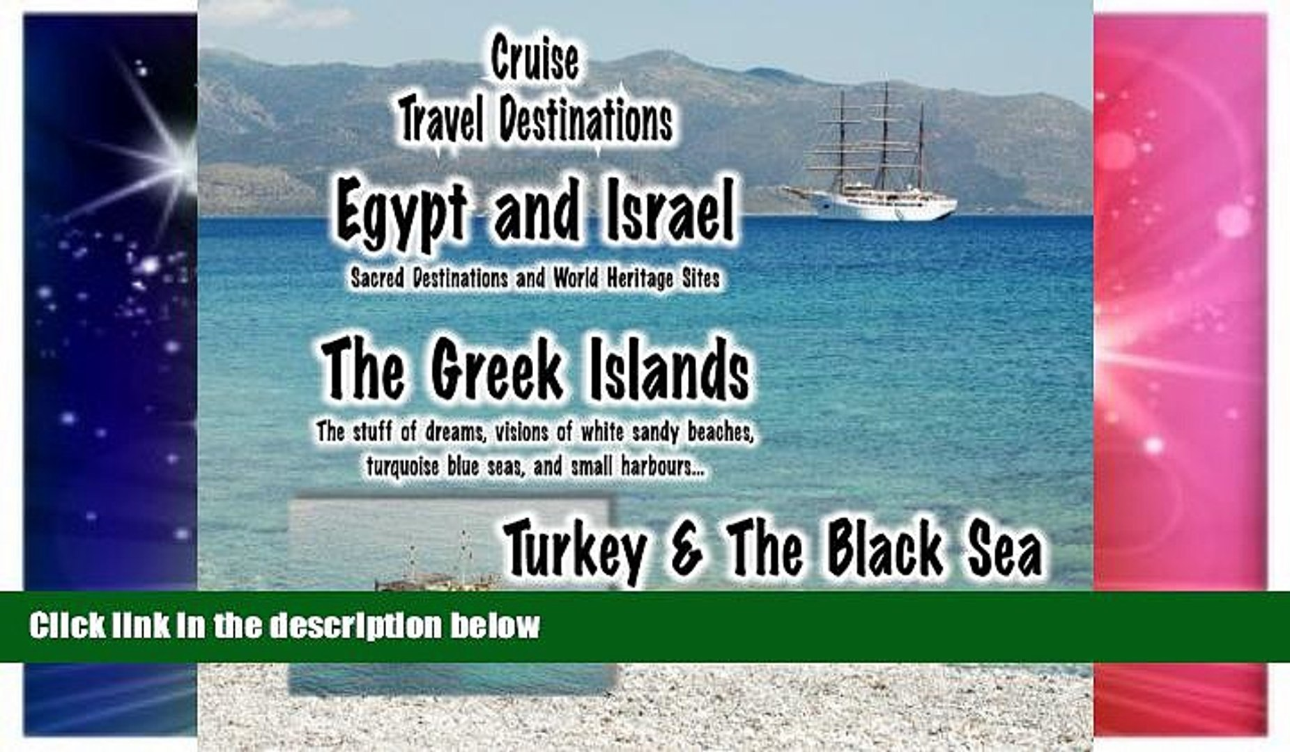 Ebook deals  Cruise Travel Destinations - Israel, the Greek Islands and Turkey: Israel, the Greek