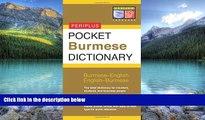 Best Buy Deals  Pocket Burmese Dictionary: Burmese-English English-Burmese (Periplus Pocket