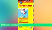 Ebook deals  Vietnam Travel Map Eighth Edition (Periplus Travel Maps Country Map)  Most Wanted