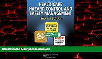 Buy book  Healthcare Hazard Control and Safety Management, Second Edition