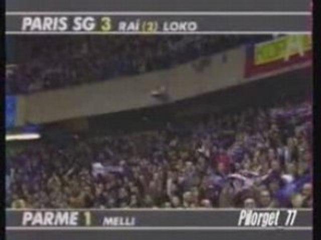 PSG-PARME 95-96, C2 fin du match