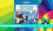 Must Have  Lonely Planet Sinhala (Sri Lanka) Phrasebook   Dictionary (Lonely Planet Phrasebook and