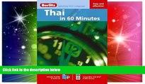Ebook Best Deals  Thai in 60 Minutes (Berlitz in 60 Minutes)  Buy Now