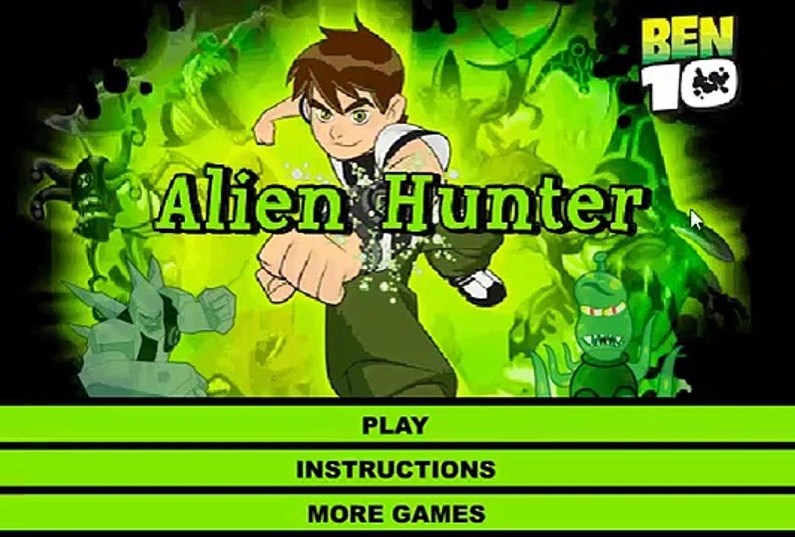 Ben 10 Alien Hunter - ben 10 Cartoon Game