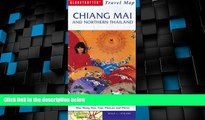 Deals in Books  Chiang Mai   Northern Thailand Travel Map (Globetrotter Travel Map)  Premium