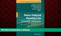 Buy books  Noise-Induced Hearing Loss: Scientific Advances (Springer Handbook of Auditory