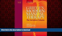 Read book  Grieve s Modern Manual Therapy: The Vertebral Column, 3e online for ipad
