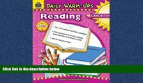 PDF [FREE] DOWNLOAD Daily Warm-Ups: Reading, Grade 4
