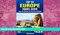 Best Buy PDF  Top 20 Europe Travel Guide - Top 20 Cities to Visit in Europe (Includes Paris,