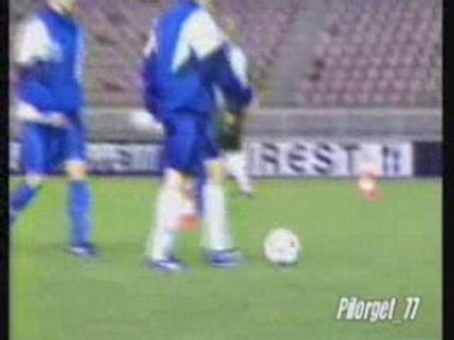 PSG-MOLDE 95-96, reportage avant match