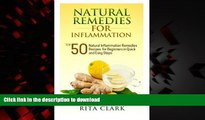 Best book  Natural Remedies for Inflammation: Top 50 Natural Inflammation Remedies Recipes for