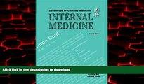 Best book  Essentials of Chinese Medicine: Internal Medicine online for ipad