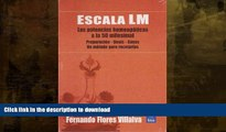 FAVORITE BOOK  Escala LM: potencias a la 50 milesimal/ LM Scale: Potentials of 50 millesimal: Las