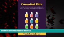 Best book  Essential Oils: How to Use Essential Oils to Ease Hormonal Imbalances, Anxiety, Stress