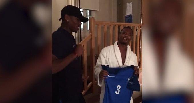 Le craquage de Pogba et Evra après la victoire des Bleus !