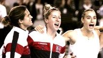 """Fed Cup 2016 - Finale - Pauline Parmentier : """"Caroline Garcia et Kristina Mladenovic ont les armes"""""""