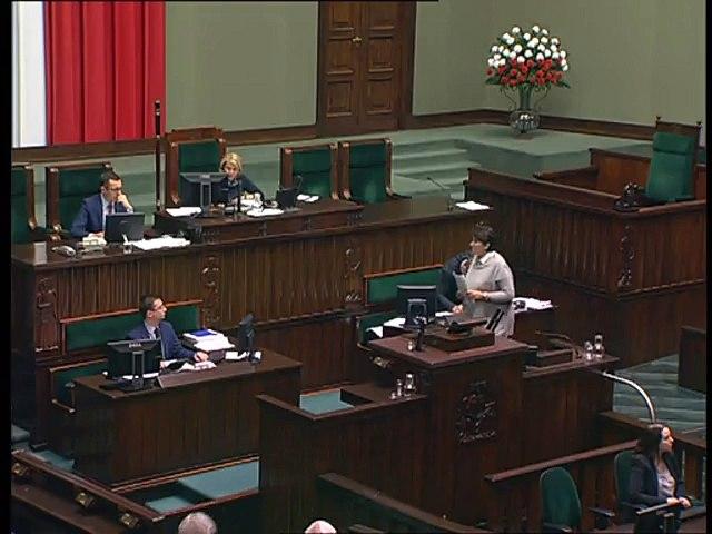 Poseł Dorota Rutkowska - Wystąpienie z dnia 03 listopada 2016 roku.