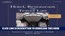 Best Seller Hotel, Restaurant, and Travel Law, 7th Edition Free Read