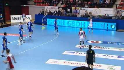 Handball Besançon / Saint-Gratien Sannois 29 à 25
