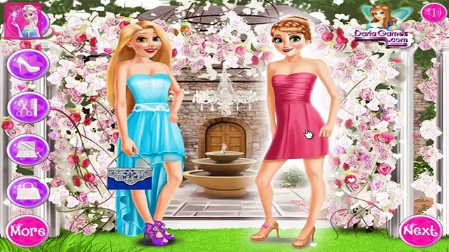 Elsa And Princesses Wedding Dress Up & Makeover Girls Game Play Video | Barbie Game For Girls