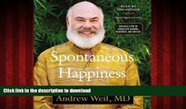 Best books  Spontaneous Happiness a New Path to Emotional Well-Being online to buy