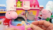 Peppa Pig PIzza, Peppa Pig Pancakes at Peppa Pig MINI PIZZERIA Playset Toys English Episodes
