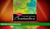 Big Sales  Content-Area Conversations: How to Plan Discussion-Based Lessons for Diverse Language