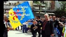 Kabylie :L'hommage de Lounès Kheloui a son frère Lounès Matoub...