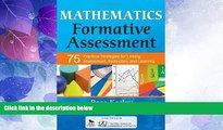Buy NOW  Mathematics Formative Assessment, Volume 1: 75 Practical Strategies for Linking