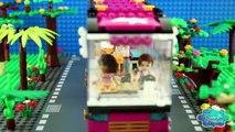♥ LEGO Friends Hawaiian Ice Cream Shop Grand Opening STOP-MOTION