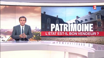 France 2, 20 h du 25 octobre 2016 : La vente du patrimoine national