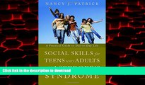 Read books  Social Skills for Teenagers and Adults with Asperger Syndrome: A Practical Guide to