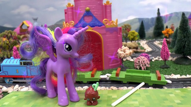 My Little Pony Play Doh Lollipop Surprises with Thomas and Friends   Peppa Pig Shopkins Toy Story