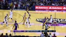 Anthony Davis Injury - Lakers vs Pelicans - November 12, 2016 - 2016-17 NBA Season