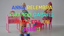 Frozen Anna e Elsa Relembram quando Gabriel ainda era um Bebê!!❤️Em Portugues Disneytoptoys
