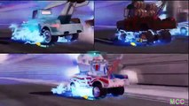 Cars 2 The Game Mater vs Mater vs Mater 3 Player Race on Terminal Sprint By Disney Cars Toy Club