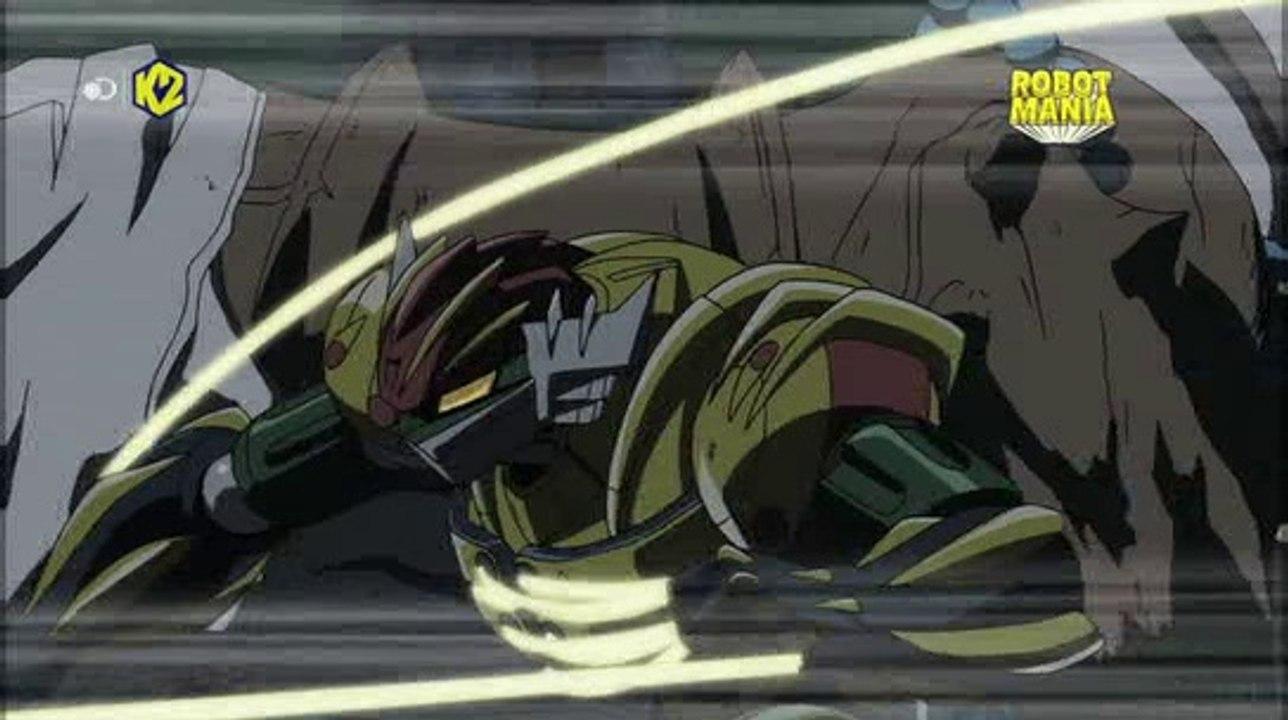Shin jeeg robot d acciaio doma il cavallo imbizzarrito