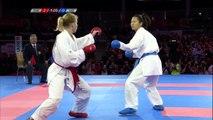 Female Kumite Bronze -61 Ingrida Suchankova SVK V Nguyen Thi Ngoan VIE 2016 WKF World Championships
